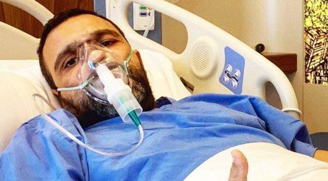 10 gündür hastanede corona tedavisi gören Okan Karacan taburcu oldu