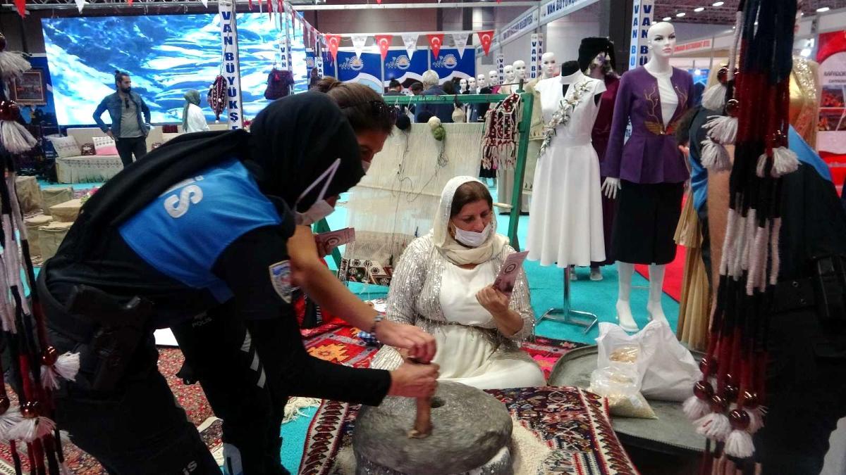 11. Doğu Anadolu Uluslararası Turizm ve Seyahat Fuarı'na yoğun ilgi
