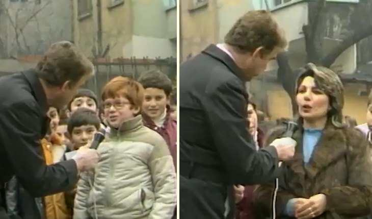 1983 Yılında Kaydedilen Görüntülerle Imtihan Öncesi Öğrencilerin ve Velilerin Heyecanlı Anları