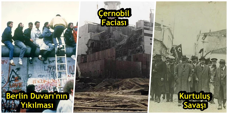 20. Yüzyıl'da Tarihin Akışını Değiştiren 20 An