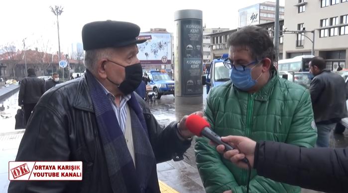 '2000 TL ile Nasıl Geçineyim' Diyen Adama İtiraz Eden Dayı: 'Ekonomi Kötü Değil, Pantolon, Kazak 20 Yıllık'