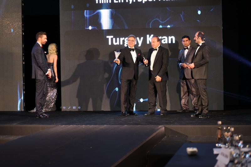 Turgay Kıran'a Ödül...