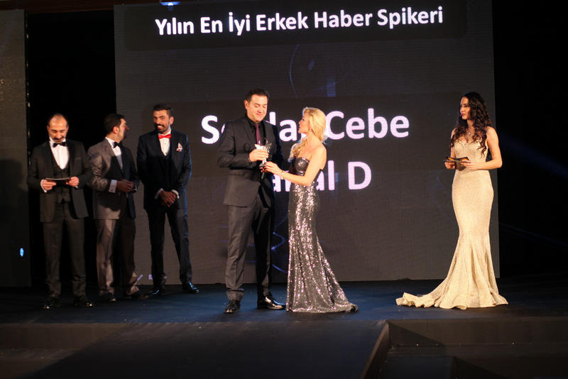 Serdar Cebe'ye Ödül...