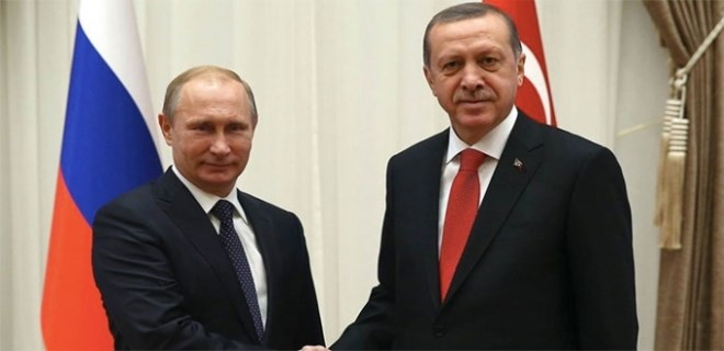 Cumhurbaşkanı Erdoğan'ın, Putin'le görüşmesi başladı