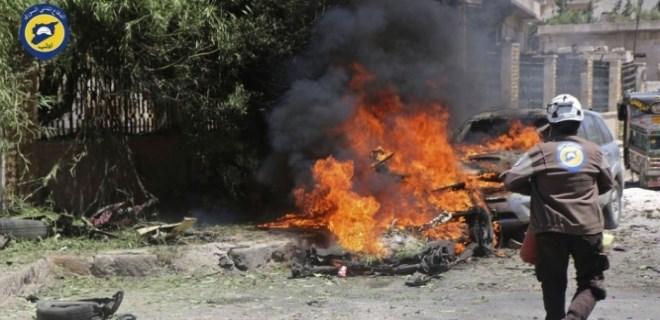 İdlib'de bombalı saldırı!