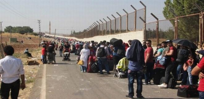 40 bin Suriyeli ülkesine gitti