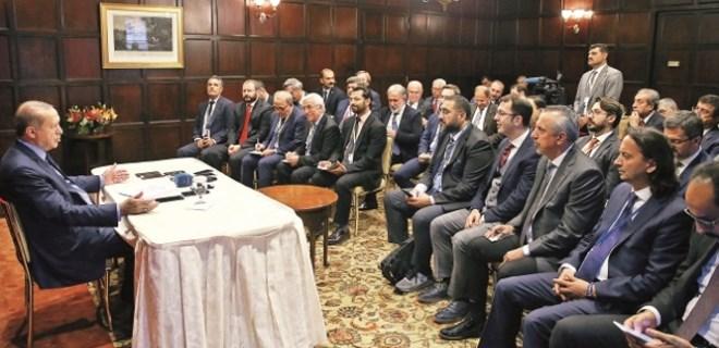 Erdoğan: 'Barzani istikametini kaybetti'