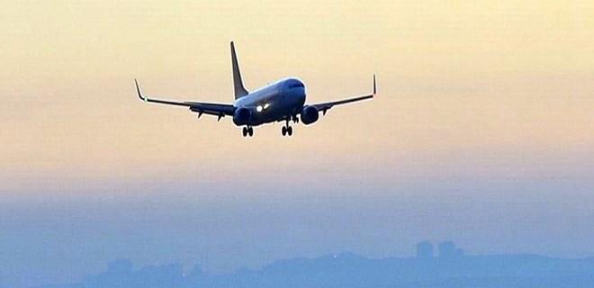 ABD'de kuşlara çarpan uçak acil iniş yaptı