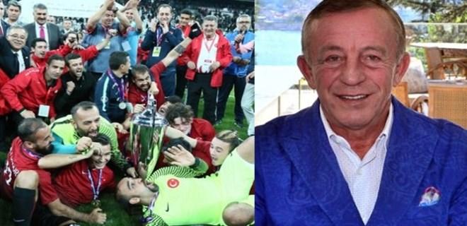 Ali Ağaoğlu, Ampute Milli Futbol Takımı oyuncularına ev verdi