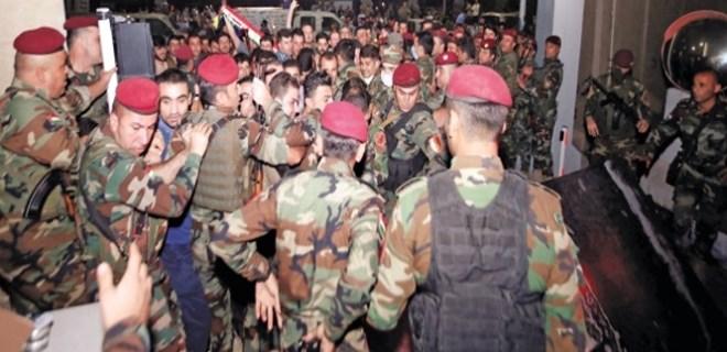 Barzani'nin adamları meclisi bastı