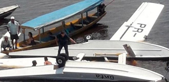 Brezilya'da Greenpeace uçağı düştü!