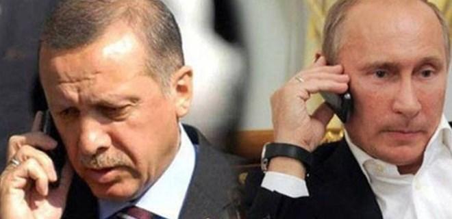 Erdoğan ile Putin'den kritik görüşme