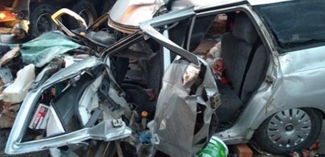 Osmaniye'de zincirleme trafik kazası