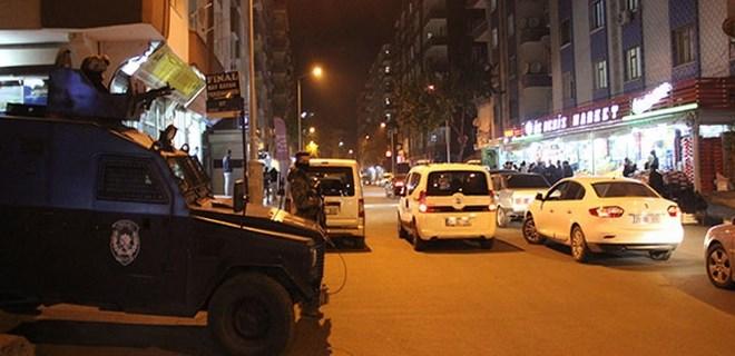 600 polisle hava destekli asayiş uygulaması