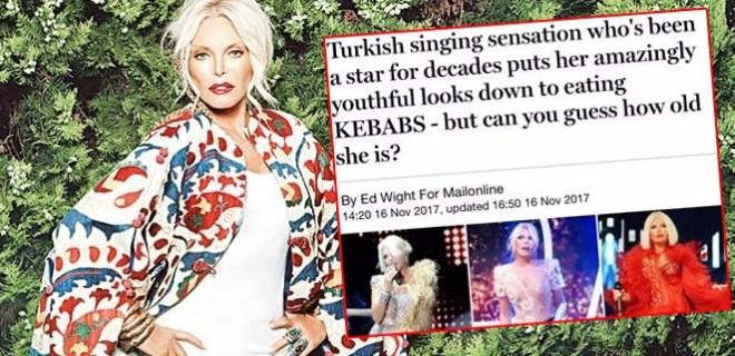 Ajda Pekkan İngiliz basınında haber oldu