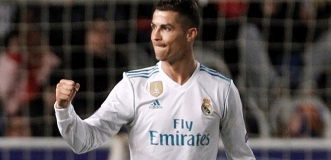 Cristiano Ronaldo rekor kırdı!