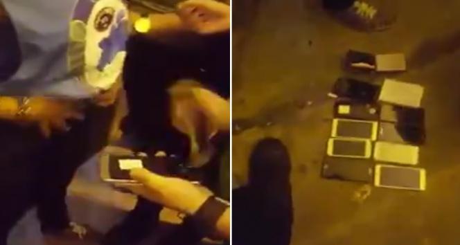 Kadın hırsız konserde 9 telefon ve 2 cüzdan çaldı