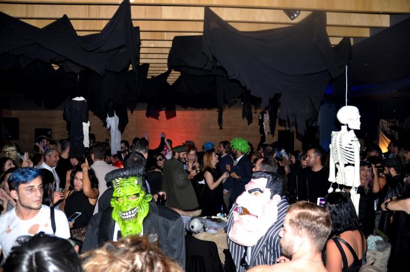 Görkemli Chill & Thrill Halloween Partisi Yıla İmza Attı
