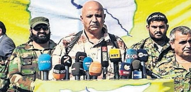 YPG'nin sözcüsü Türkiye'ye sığındı