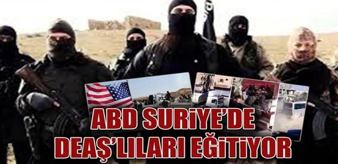 ABD Suriye'de DEAŞ'lıları eğitiyor