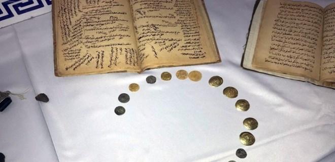 Mardin'de tarihi eser kaçakçısı yakalandı!