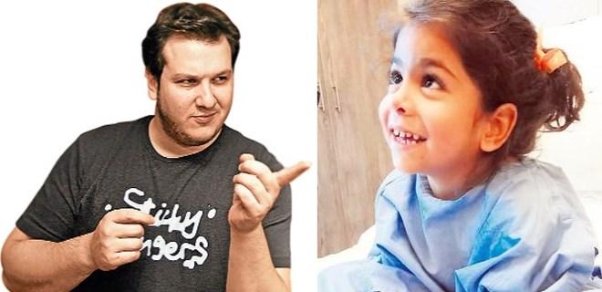 Şahan Gökbakar küçük kıza söz verdi!