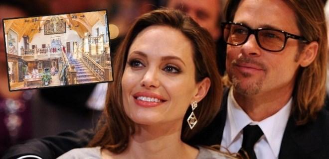 Brad ve Angelina'nın aşk yuvaları satılıyor!