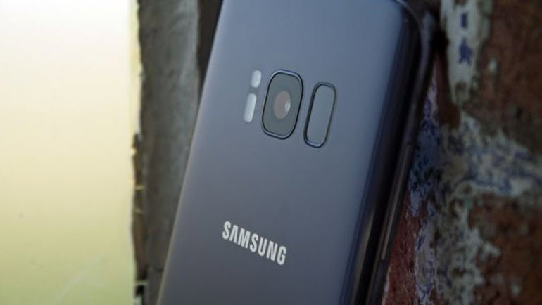 Galaxy S9'un kamerası için patent