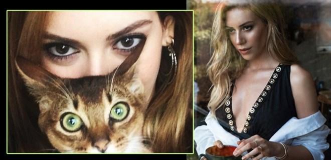 Kedi kız Sinem Kobal