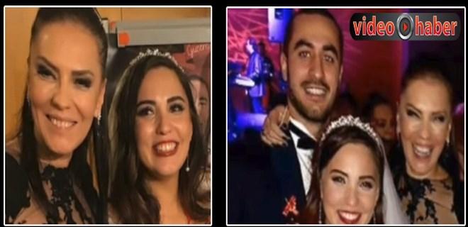 Yeşim Salkım'ın kızı Gizem evlendi