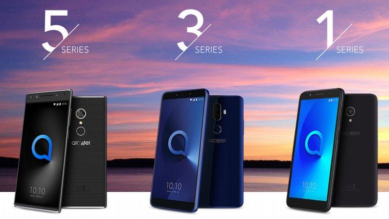 Alcatel'den üç yeni telefon!