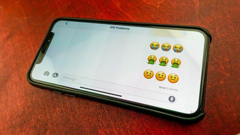 iOS 11'i kilitleyen mesaj!