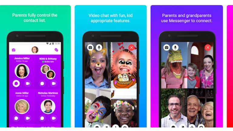 Messenger Kids dağıtılıyor!