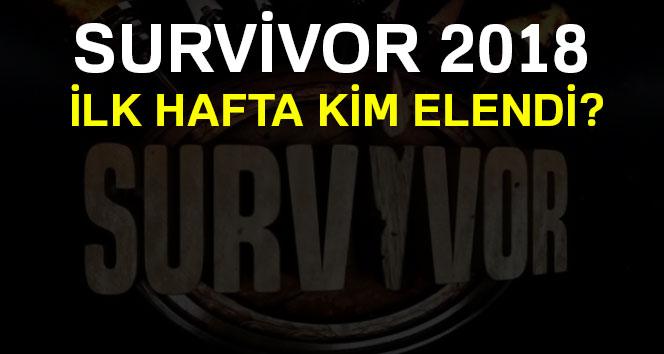 Survivor 2018 ilk hafta kim elendi ! Survivor sms sonuçları