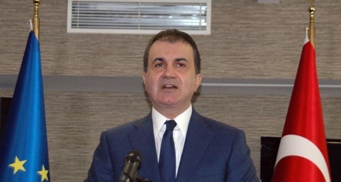 AB Komisyonunun Türkiye Raporuna sert tepki