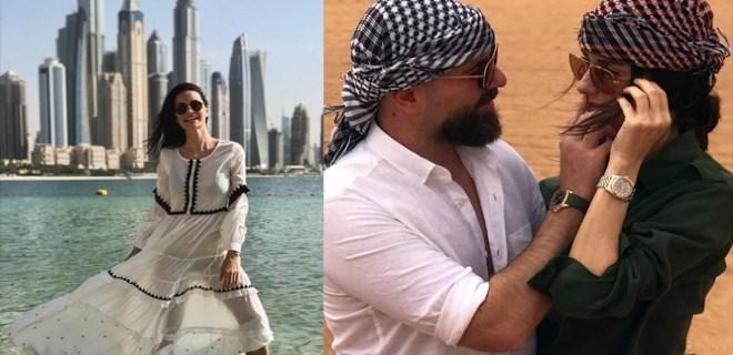 Dubai güzeli: Yasemin Özilhan