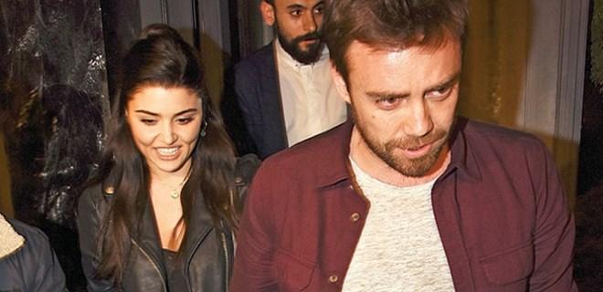 Hande Erçel ve Murat Dalkılıç'tan düşman çatlatan poz