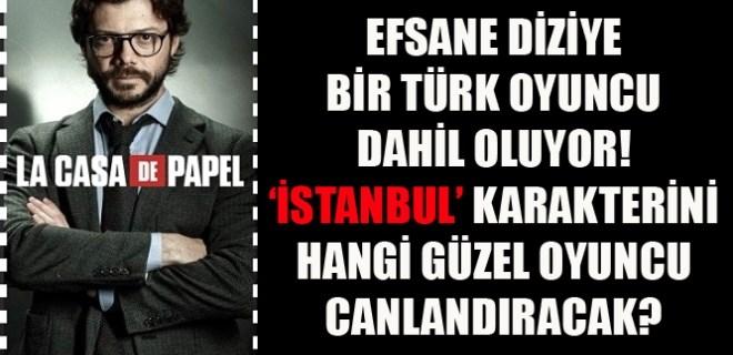 'La Casa De Papel'e 'İstanbul' geliyor iddiası!