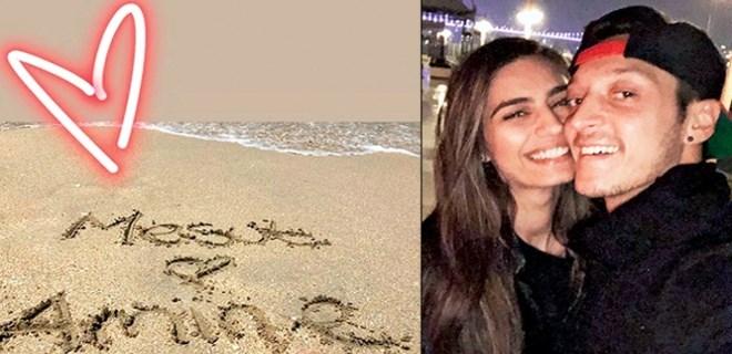 Amine Gülşe Dubai'de aşka geldi