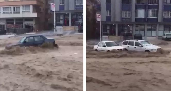 Ankarada sel: 6 yaralı