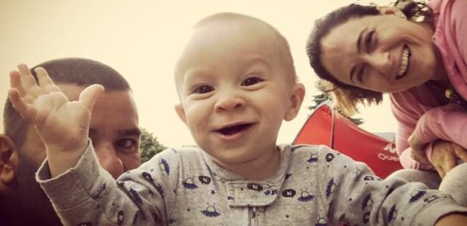 Bülent Şakrak ve Ceyda Düvenci'nin sevimli oğlu