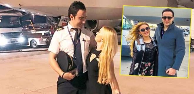 Ece Seçkin'in aşkı pilot kabusu uçak!