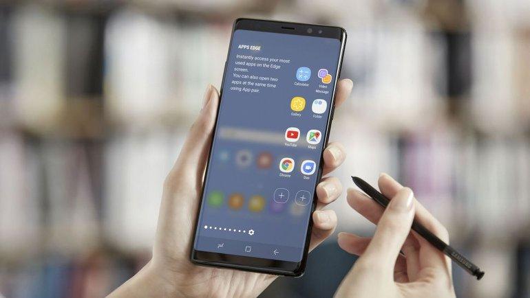Galaxy Note 9'un ön paneli sızdı