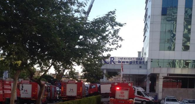 Hastanede yangın dehşeti: 2 ölü