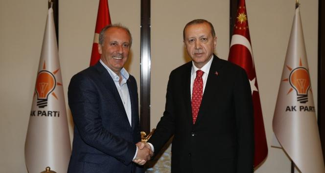 İnce ve Karamollaoğlundan Cumhurbaşkanı Erdoğana tebrik telefonu