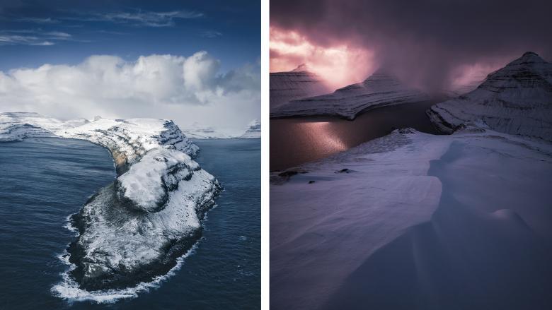 Soğuk ve Puslu Havasıyla Bilinen, Keçi Ülkesi Olarak da Anılan Faroe Adaları'ndan 8 Çarpıcı Fotoğraf