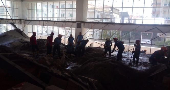 Ankarada inşaatta göçük: 3 ölü, 1 yaralı