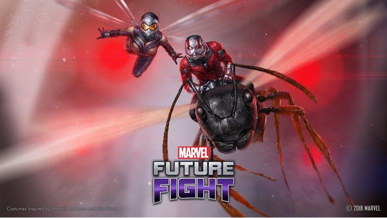 Ant-Man ile Wasp da geldi!