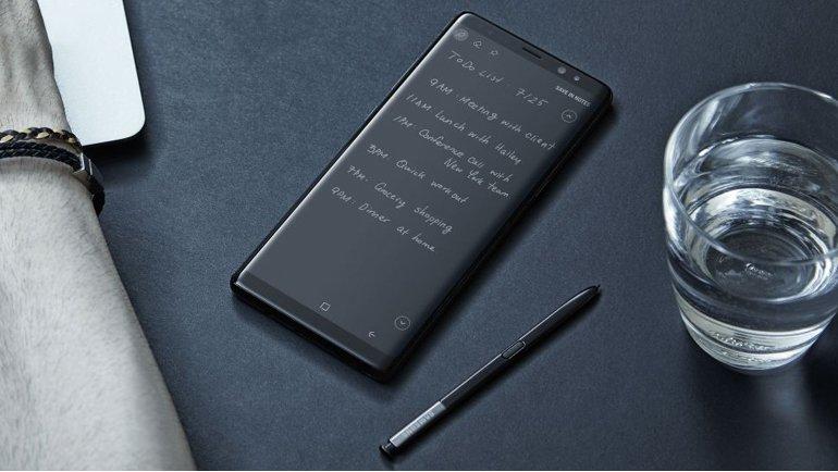 Galaxy Note 9'dan yeni görüntüler