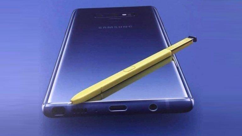 Galaxy Note 9 'resmen' göründü
